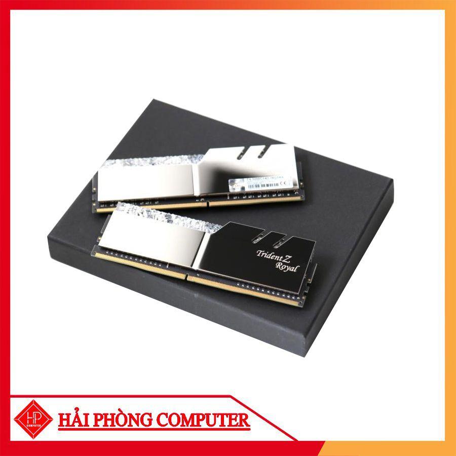 RAM G.SKILL Trident Z Royal RGB 16G (2x8GB) DDR4 3000MHz