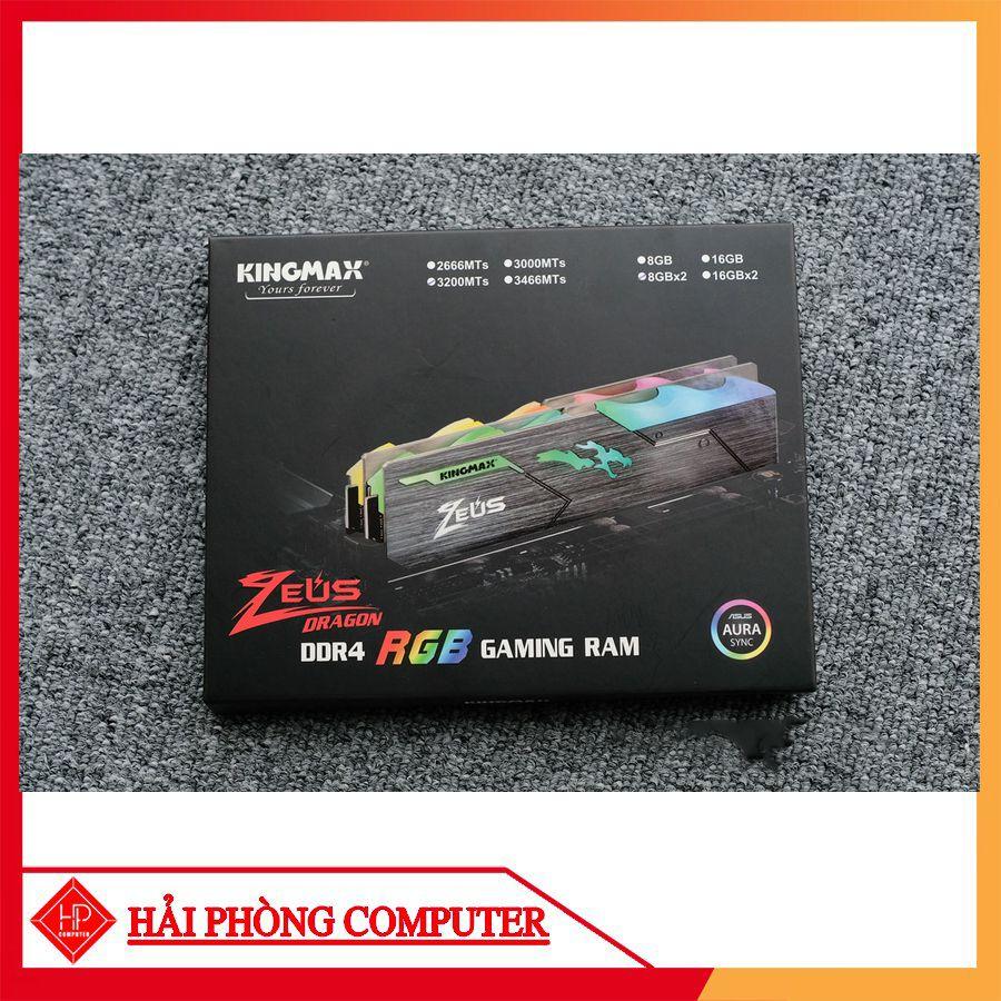 RAM KINGMAX Zeus Dragon RGB 8GB DDR4 3200MHz