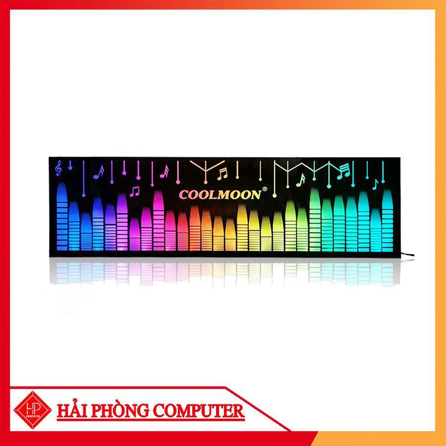 TẤM CHE NGUỒN MÁY TÍNH LED RGB 16 TRIỆU MÀU